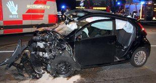 Unfall auf der L 518