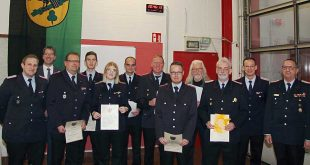 Jahreshauptversammlung der Freiwilligen Feuerwehr Hahnenklee-Bockswiese