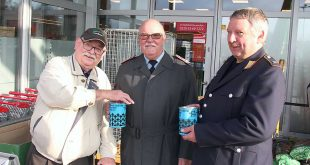 Reservistenkameradschaft sammelt über 100 Euro an Spenden