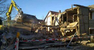 Mehrfamilienhaus abgerissen