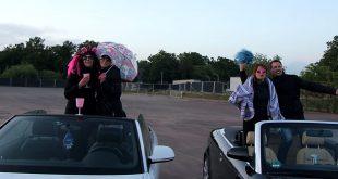 Schlagerparty auf dem Autokino Gelände