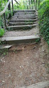Treppenaufgang zum Harly
