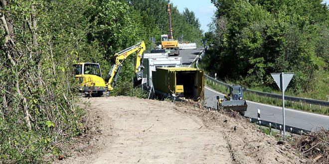 Bauarbeiten A36
